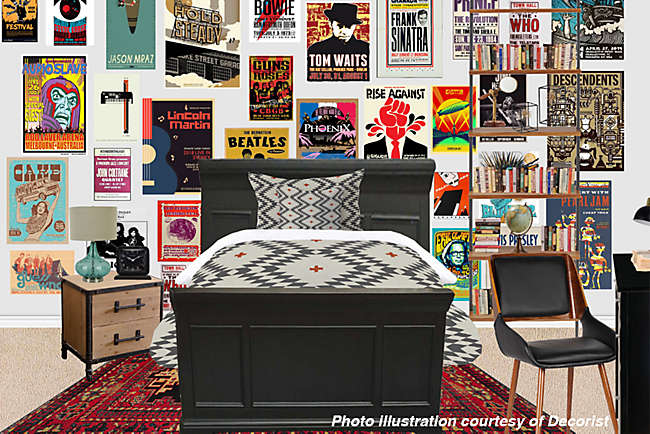 Room to Love: A Rock 'n Roll Room Transformation