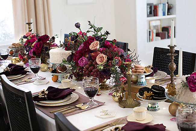 6 Quick Tips To Glam Up Your Holiday Table