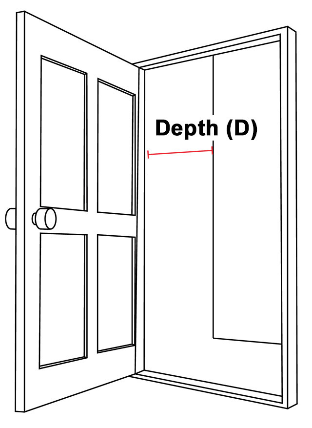 Doorway Depth Illustration