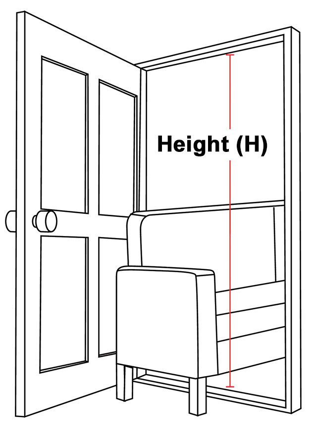 Doorway Height Illustration