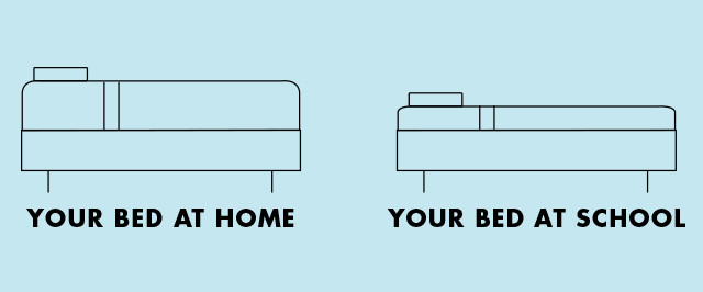 Build Your Better Bed - Your Bed at Home, Your Bed at School