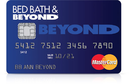 bed bath & beyond mastercard credit card