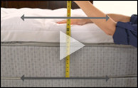 Step 1 - Measure Your Bed