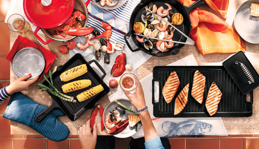 Grill to Table Collection Banner Image