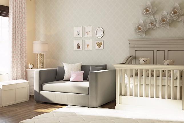 Image of Traditional designer nursery