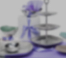 Blurred Bowls and Trays Image