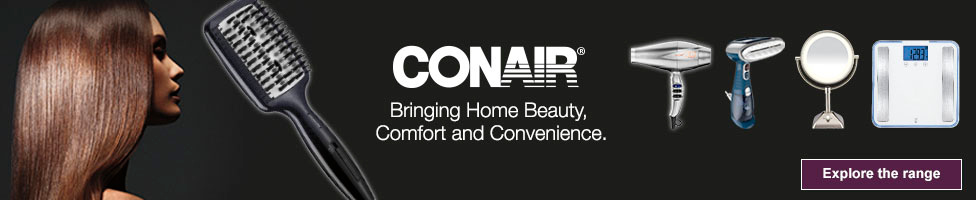 Conair - Bringing Home Beauty, Comfort and Convenience - Explore the range