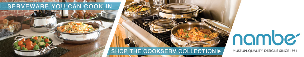 Serveware You Can Cook In, Shop the Cookserv Collection