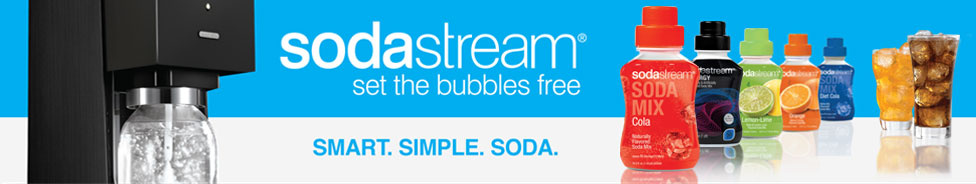Set the Bubbles Free: Smart. Simple. Soda.