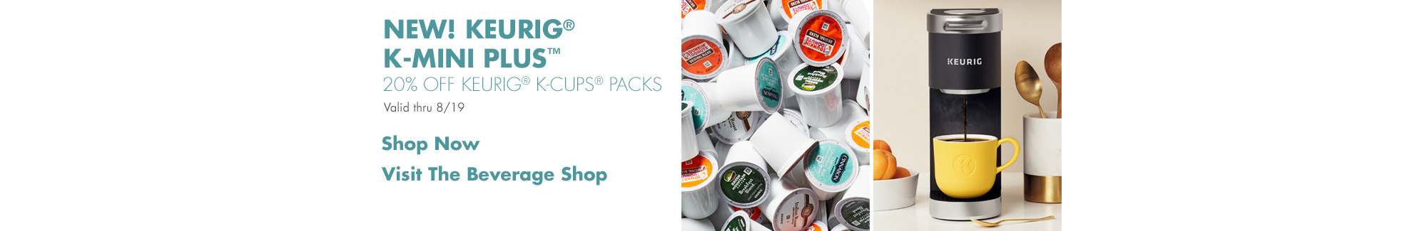 20% off Keurig Value Packs