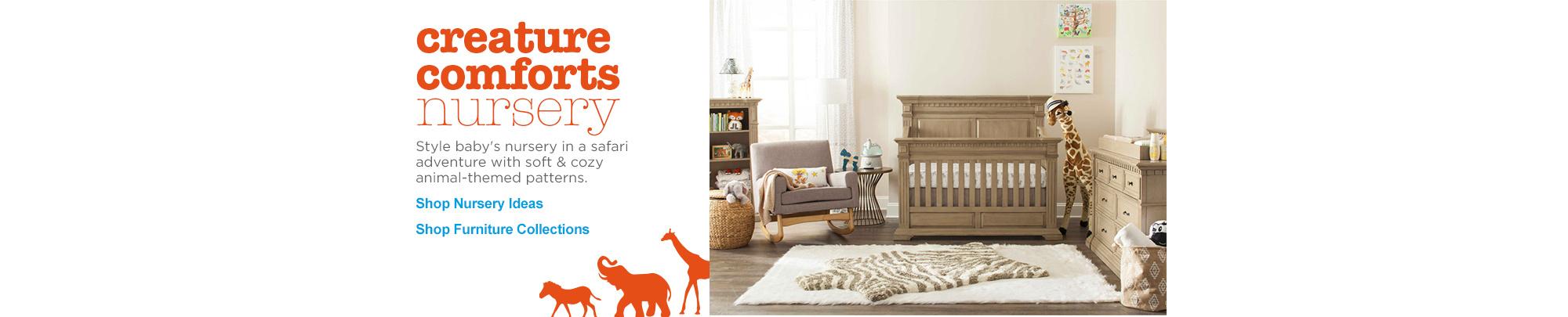 Baby cribs okc - Creature Comforts Nursery Shop Nursery Ideas