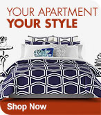 Your Apartment Your Style - Shop First Apartment Bedding