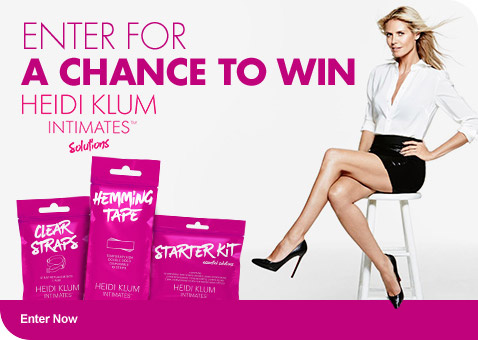 Heidi Klum Intimates Solutions - Enter For A Chance to Win