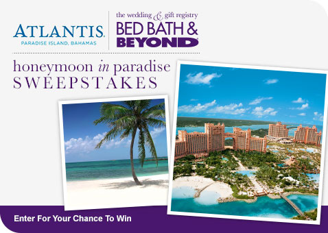 bed bath and beyond gift registry completion discount learn more about atlantis honeymoon in paradise 13686