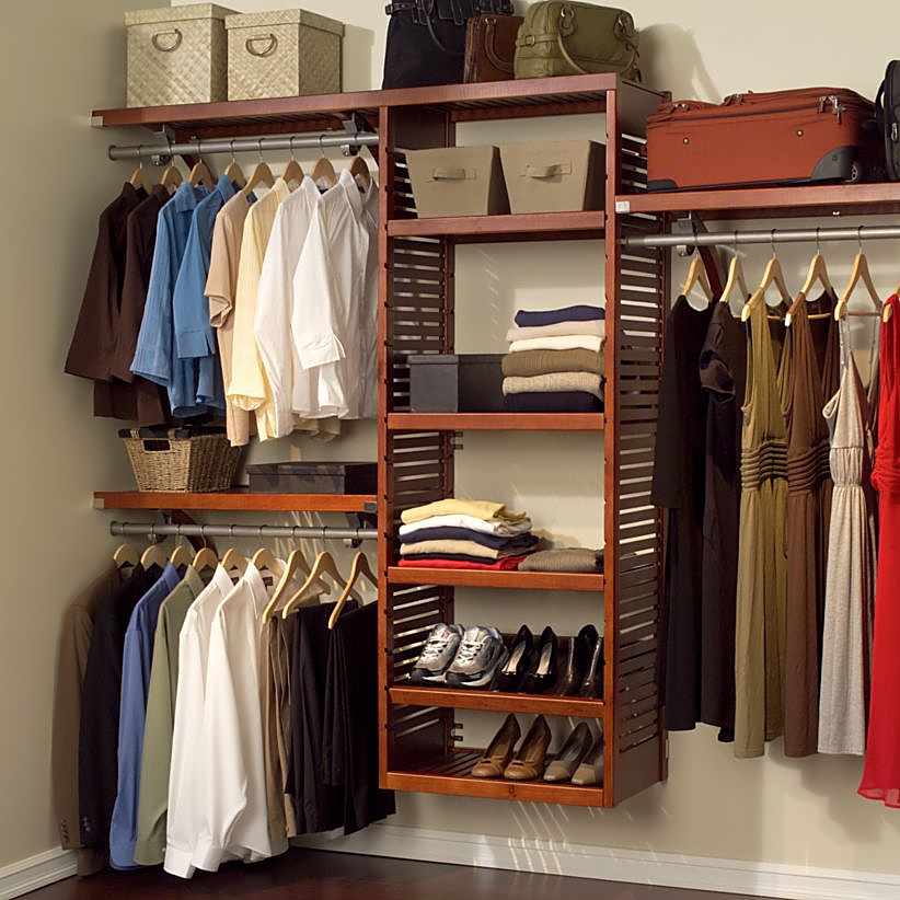 buying guide to closet storage bed bath beyond. Black Bedroom Furniture Sets. Home Design Ideas
