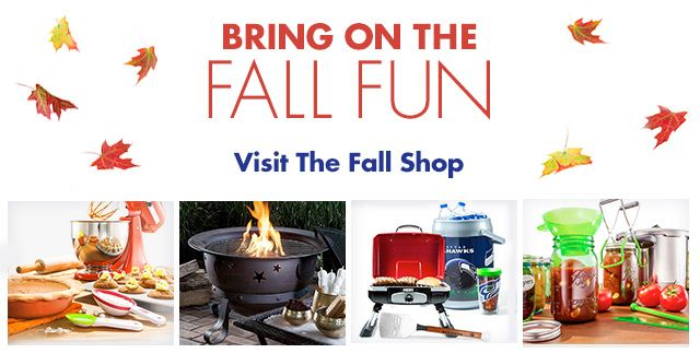Bring on the Fall Fun - Visit the Fall Shop
