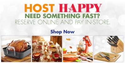 Host Happy - Reserve Online And Pay In-Store - Shop Now