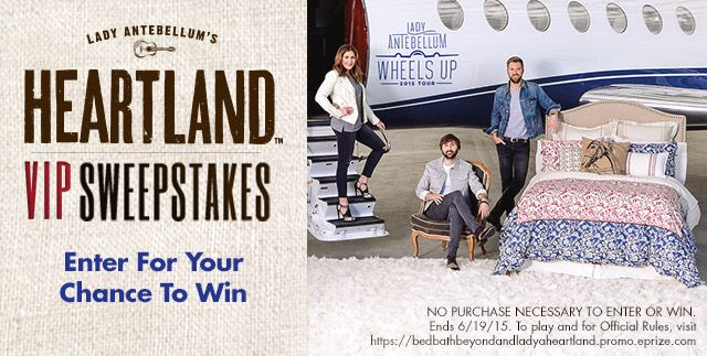 Enter For Your Chance to Win the Heartland VIP Sweepstakes