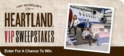 Enter For a Chance to Win the Heartland VIP Sweepstakes image