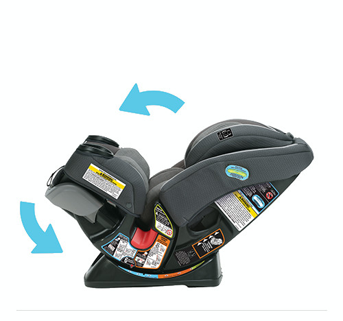 Graco 174 4ever Extend2fit 4 In 1 Car Seat In Passport