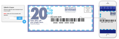 Print out this coupon for a 20% discount on your entire in store purchase,  valid with ID. for veterans, active duty military and spouses. 20% Bed Bath  ...