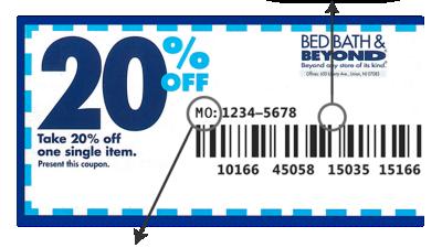Bedbathandbeyond online coupon code