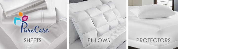 PureCare: Sheets Pillows and Protectors