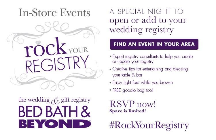 rock your registry rock your registry bed bath beyond