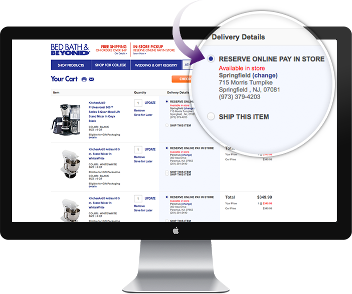 Www Bedbathandbeyond Com Store Locator: Reserve Online Pay In Store