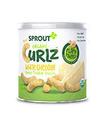 Sprout White Cheddar Organic Curlz