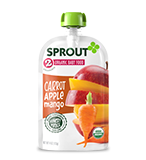 Sprout 2 Organic Food in carrot, apple and mango
