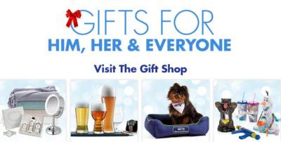 Gifts For Him, Her & Everyone - Visit The Gift Shop