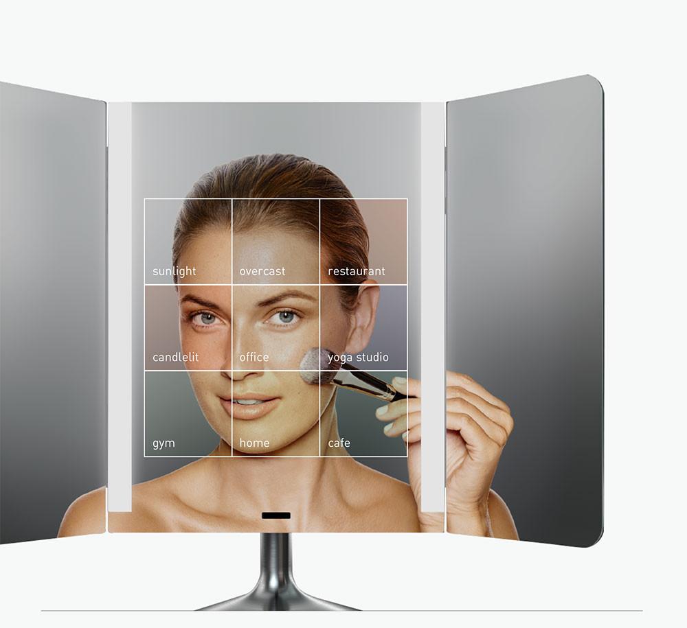 Simplehuman 174 Wide View Sensor Mirror Bed Bath Amp Beyond
