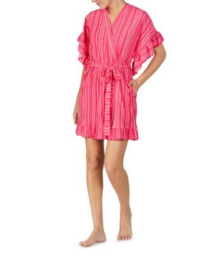 A vintage terry robe to remember pink