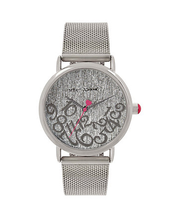 ALL MIXED UP SILVER MESH WATCH
