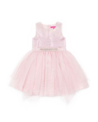 ALL THAT GLITTERS 4-6X DRESS PINK