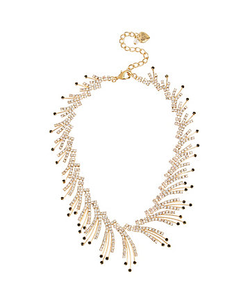 ANGELS AND WINGS SPRAY FRONTAL NECKLACE