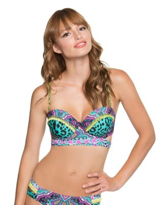 ARABIAN NIGHTS BUMP ME UP BRA TOP MULTI