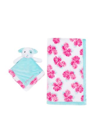 BABY PIGGY TWO PIECE BLANKET AND TOY SET MULTI