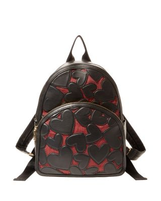 BACHELOR OF FINE HEARTS BACKPACK BLACK/RED