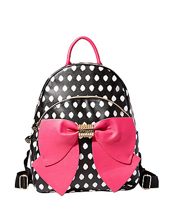 BACK TO SCHOOL BOW BACKPACK