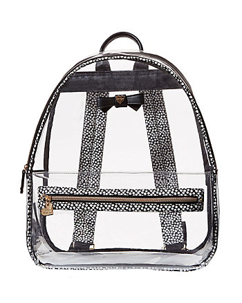 BACK TO SCHOOL CLEAR AS CAN BE BACKPACK