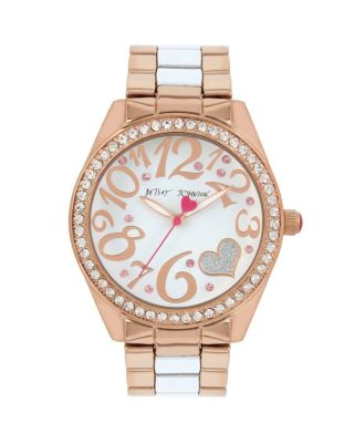 BETSEY CLASSIC HEART WATCH WHITE