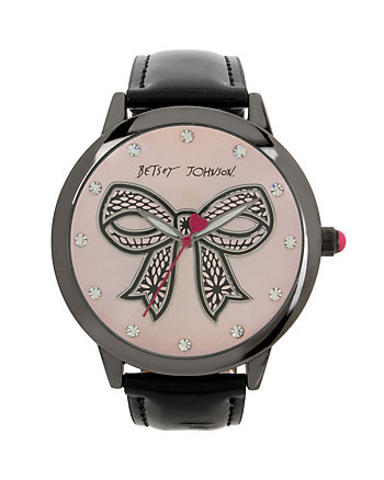 BETSEY TIME BOW WATCH