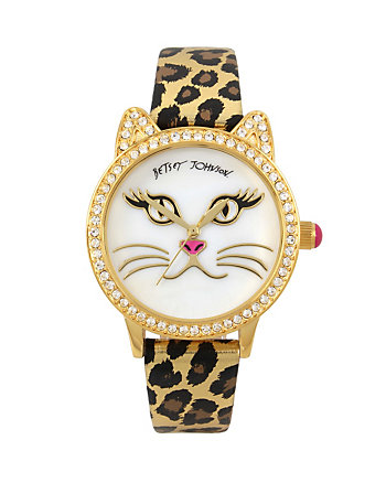 BETSEYS BOXED MEOW TIME WATCH