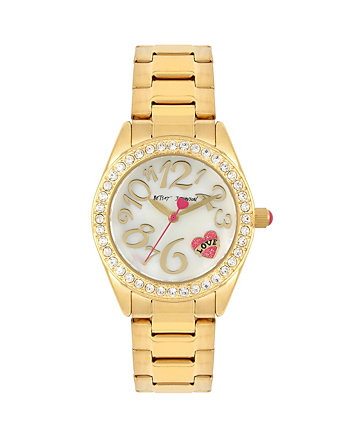 BETSEYS BOXED TATTOO HEART WATCH