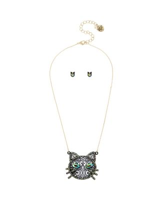 BETSEYS DARK MAGIC CAT SET BLACK