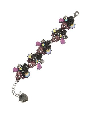 BETSEYS DARK MAGIC FLEX BRACELET PURPLE