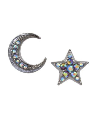 BETSEYS DARK MAGIC MISMATCH STUDS BLACK