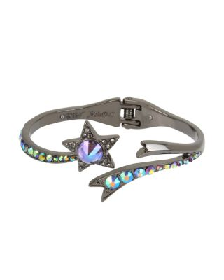 BETSEYS DARK MAGIC STAR BANGLE BLACK